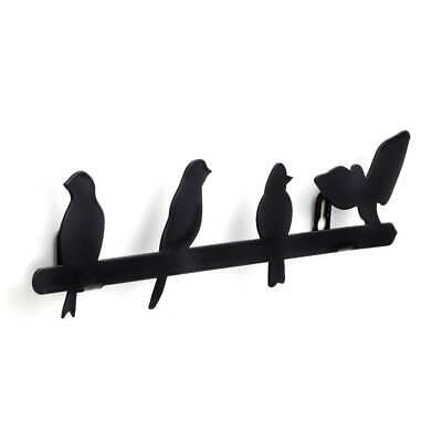Black Bird Wall Mounted Jewellery Holder by Kikkerland
