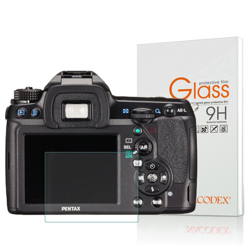 Nacodex For PENTAX K-5II K-5IIs Tempered Glass Screen Protector