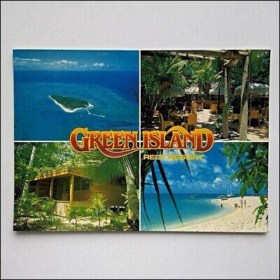 Green Island Resort (Green Island Reef Resort Great Barrier Reef 1984 Postcard (P434))