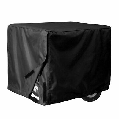Portable Generator Waterproof Black Cover Medium Rain Shield Protection Dust New