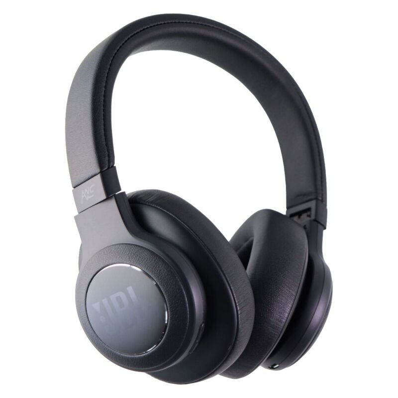 JBL Duet NC Wireless Over-Ear Noise-Cancelling Headphones - Black
