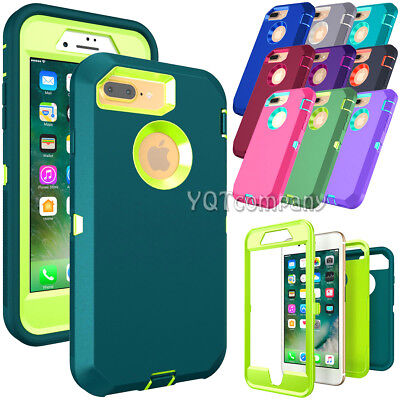 For iPhone 6s 7 8 Plus 11 Pro Max XR XS Case Cover Protective Rugged Rubber Hard
