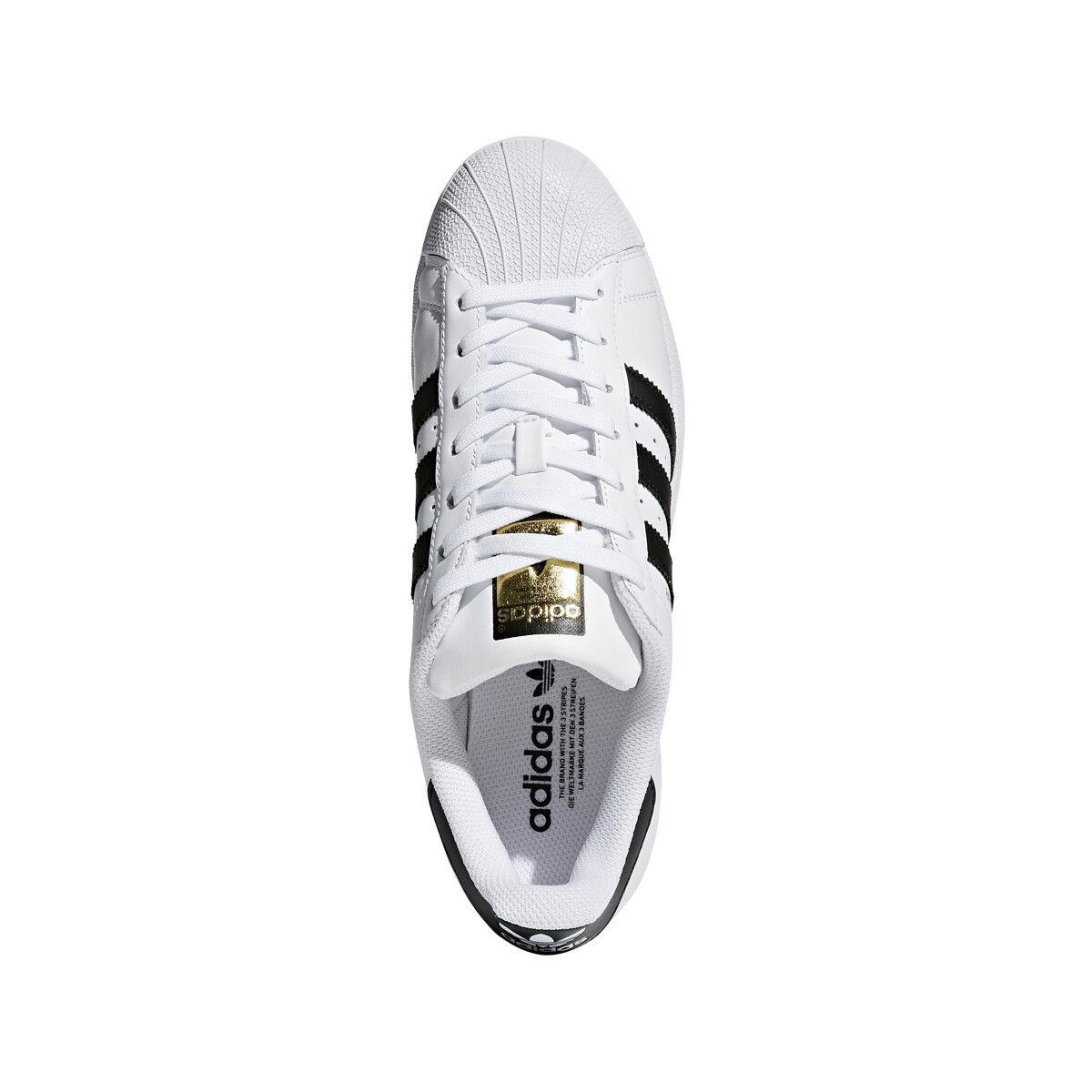 adidas Originals Men's Superstar Foundation Sneaker, White/Core Black C77124 1