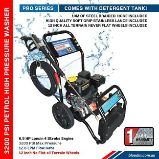 3200 PSI 6.5 HP Petrol Pressure Washer Loncin Engine 6.5HP- Patio Kewdale Belmont Area Preview