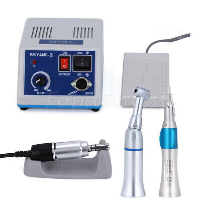 Dental Lab Marathon 35krpm Polishing Micromotor Contra Anglestraight Handpiece