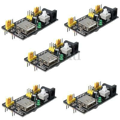 5PCS MB102 Breadboard Power Supply Module 3.3V 5V For Arduino Solderless