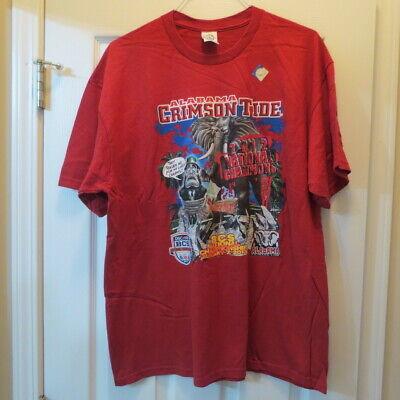 Alabama Crimson Tide 2012 National Champions 2 Tshirts (XL) vs Notre Dame