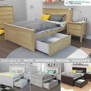Kids bed with storage : Single, King single, Double. Solid timber Dandenong South Greater Dandenong Preview