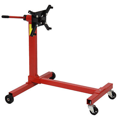 Heavy Duty Swivel Transmission Gearbox Engine Support Stand 1000 lbs 450kg UK