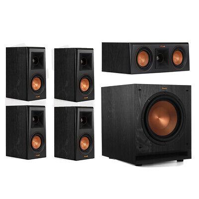 Klipsch RP-400M 5.1 Home Theater System - Ebony