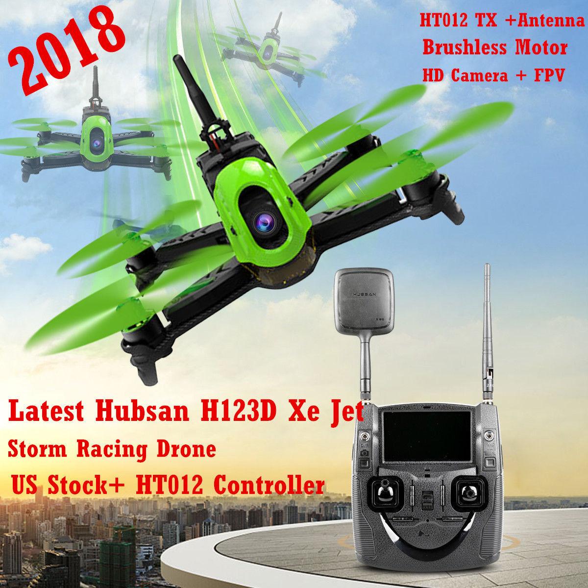 Hubsan H123D X4 Jet 720P HD 5.8G FPV Quadcopter  Micro RC Storm Racing Drone RTF