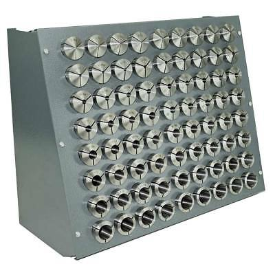 72 Pc. Precision Inch 5-c Collet Set Wrack 164 To 1-18 164th Sizes 5 C