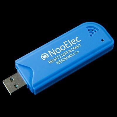 NooElec NESDR Mini 2+ RTL-SDR & DVB-T USB Set w/ 0.5PPM TCXO & R820T2 Tuner IC