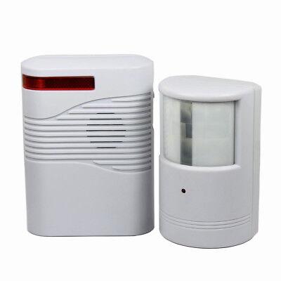 Garage Front Door Driveway Motion Sensor Alarm Infrared Wireless Alert System