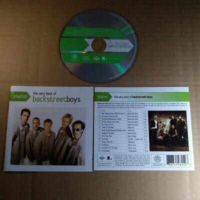 Backstreet Boys - Playlist: The Very Best Of Backstreet Boys USA CD VG  (Backstreet Boys Playlist The Very Best Of Backstreet Boys)