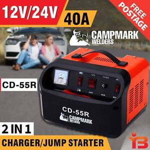 40A Campmark 12V/24V 2in1 Battery Charger-Home orProfessional Use Fairfield Fairfield Area Preview