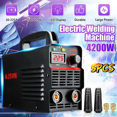 225a 4200w Digital Display Welder Arc Inverter Igbt Mma Electric Welding Machine
