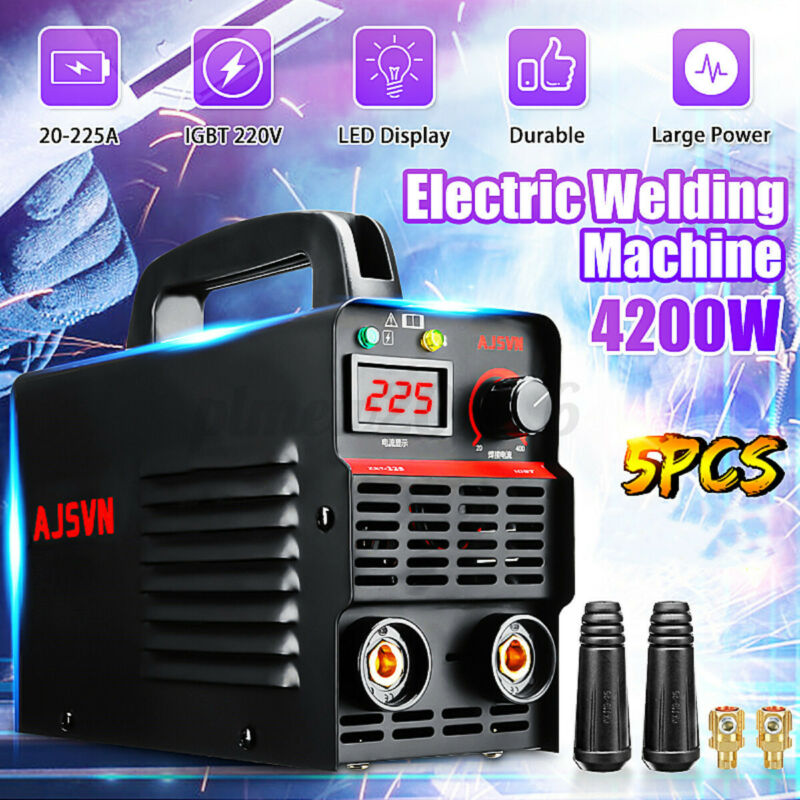 225A 4200W Digital Display Welder ARC Inverter IGBT MMA Electric Welding