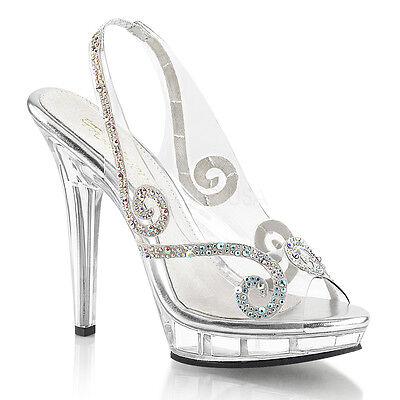 Clear Cinderella Glass Slippers Disney Princess Theme Wedding Shoes Heels Womans - Princess Wedding Theme