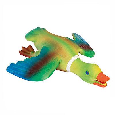 Hundespielzeug, Latexente - Latex Ente - schwer - mit Quietscher