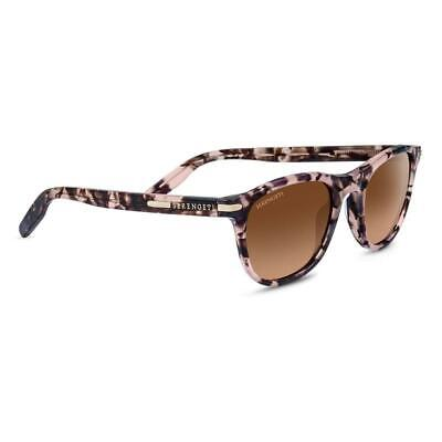 Serengeti Andrea Sunglasses Women's Shiny Pink Tortoise Mineral Drivers (Serengeti Ladies Sunglasses)
