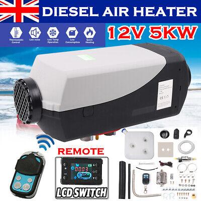 12V 5KW Air Diesel Fuel Heater 5000W LCD Monitor Remote PLANAR Trucks Boats Car
