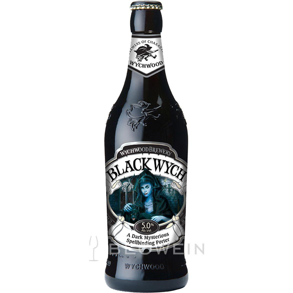 Wychwood Black Wych Porter 0,5 l inkl 0,25 € Pfand, dunkles Bier aus England