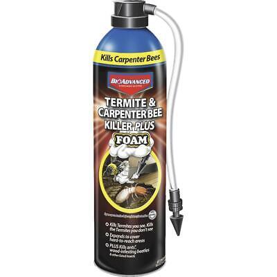 BioAdvanced 18 Oz. Foam Carpenter Bee & Termite Killer 700420A  - 1 Each
