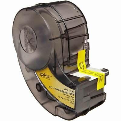Brady 142311 Idxpert Labxpert Indoor Outdoor Vinyl Labels Xc-1500-595-bl-wt