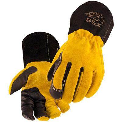 Black Stallion Bsx Bt88 Xtreme Kidskincowhide Tig Welding Gloves Small