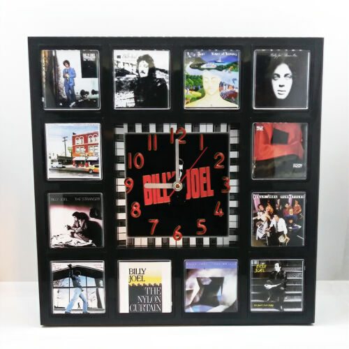 Billy Joel Rock Band Wall Clock