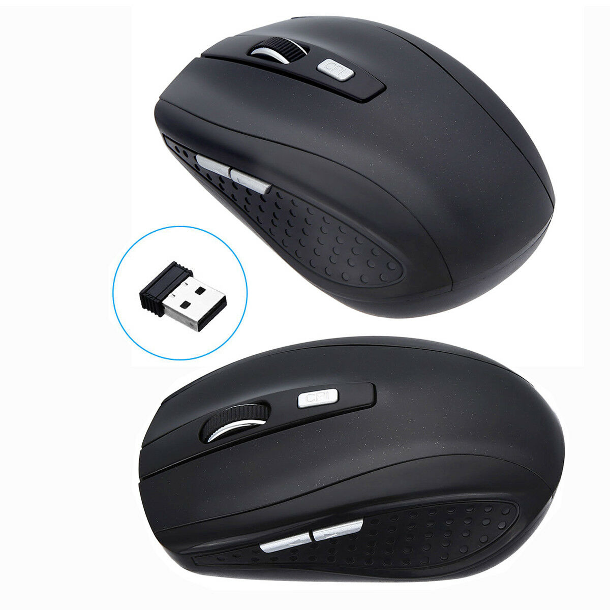 2.4GHz Wireless Cordless Optical Mouse Mice + USB Receiver f