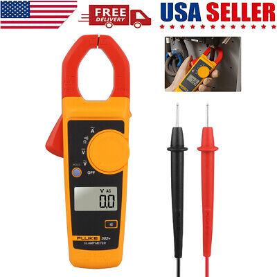 Fluke 302 Digital Clamp Meter Acdc Multimeter Electronic Tester New Us Stock