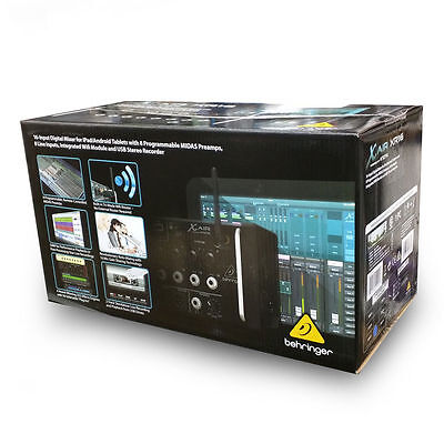 Behringer X Air XR16 16-Input Digital Mixer for iPad/Android Tablets B-STOCK