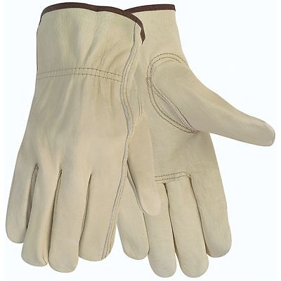 Cowhide Leather Work Gloves W Keystone Thumb Size Small