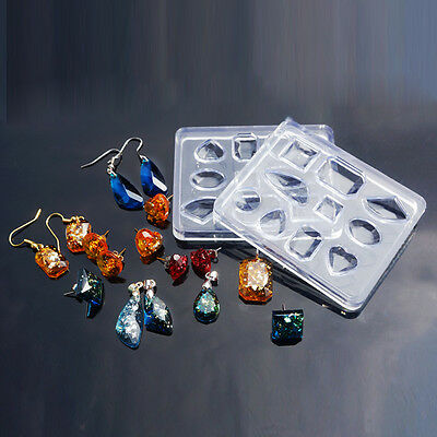 1 Mixed Cabochon Resin Casting Silicone Mould   J86546M