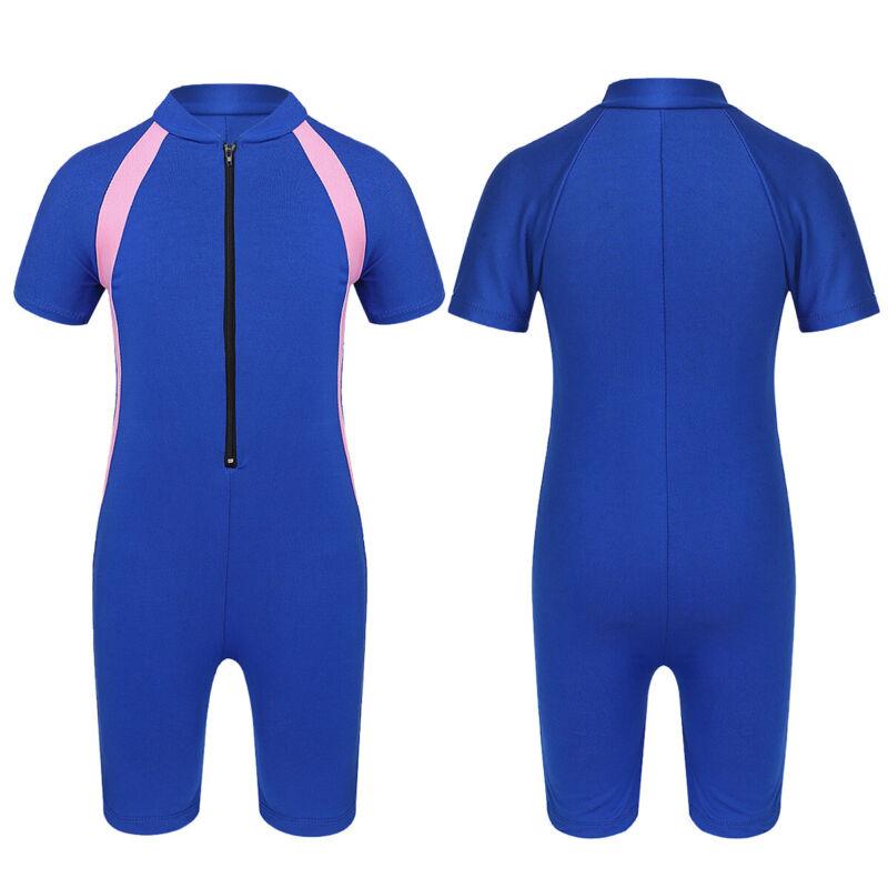Mädchen Schwimmanzug Badebekleidung Kinder Einteiler Badeanzug mit UV-Schutz