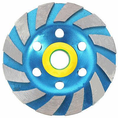 "100mm (4"") Diamond Grinding Concrete Cup Wheel Disc Concrete Masonry Stone"