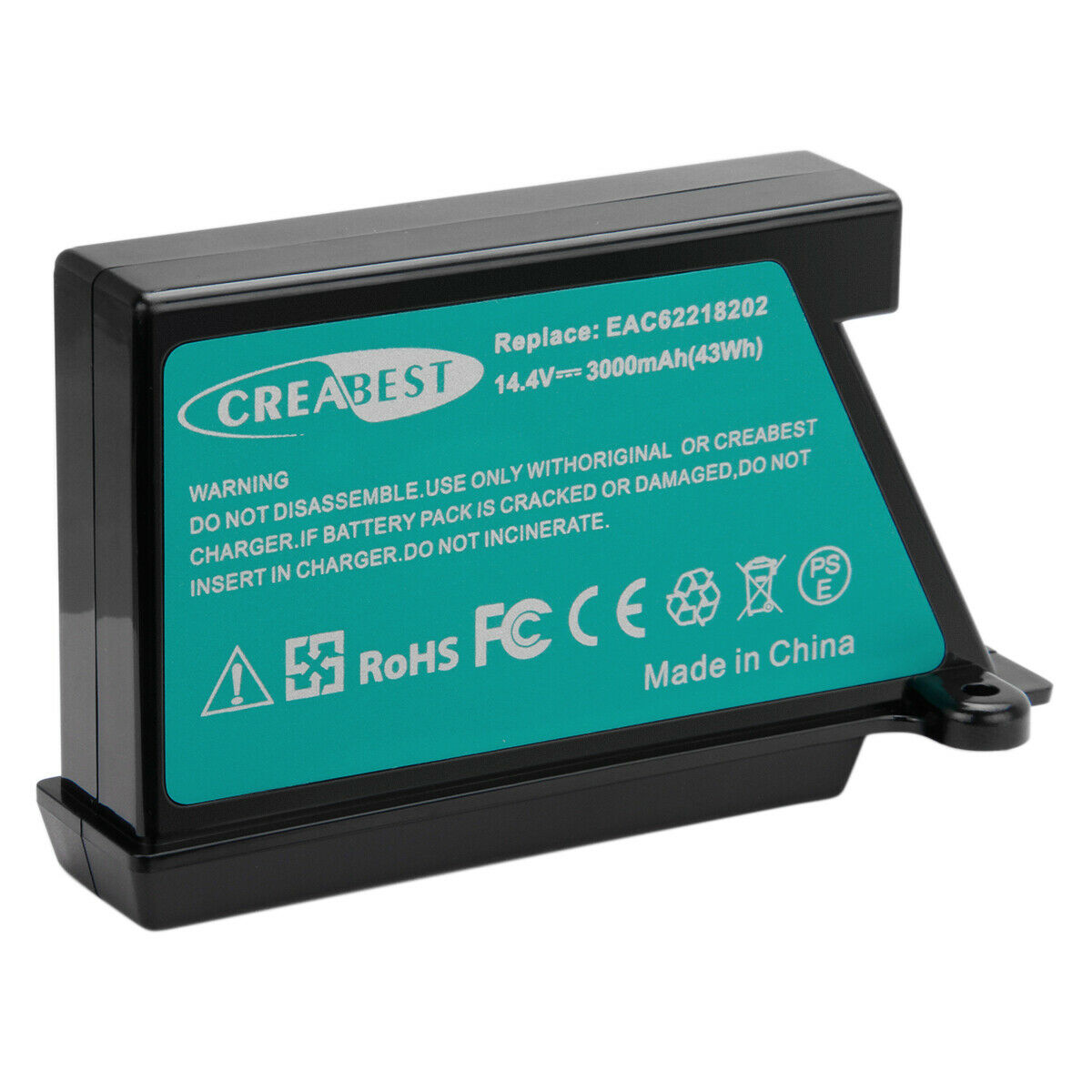 VR5901LVM Akku Batterie 3000mAh Li-Ion für LG Hom-Bot VR1320B VR34406LV