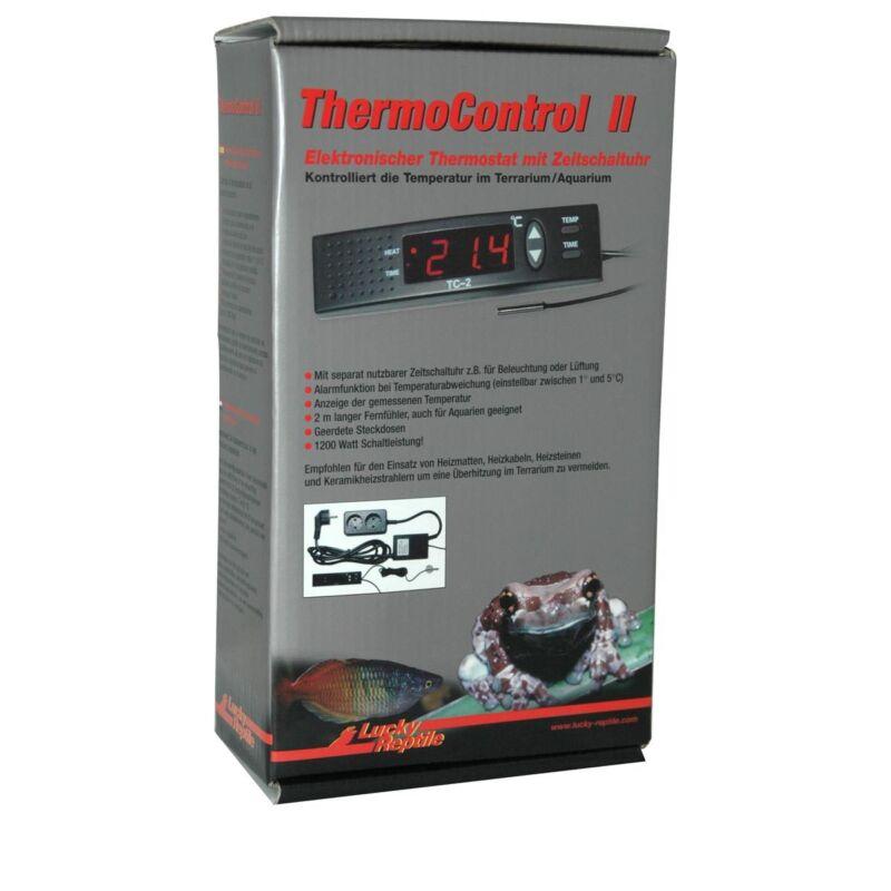 Lucky Reptile Thermo Control II Steuergerät Temperaturregler Terrarium Reptilien
