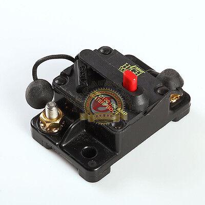 Waterproof 100 Amp Manual Reset Circuit Breaker 12v Car Auto Boat Audio Fuse