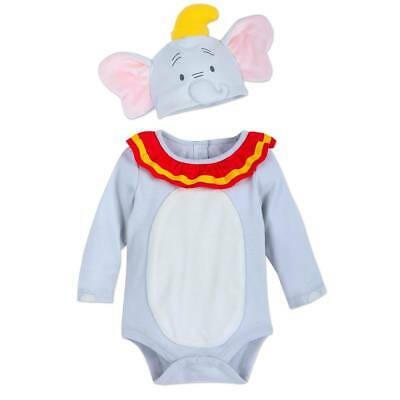 Disney Store Dumbo Elephant Baby Costume Bodysuit Set Many sizes - Baby Dumbo Kostüm