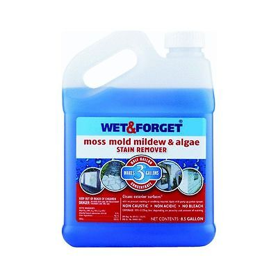 Wet and Forget 800003 1/2 Gallon Moss Mold Mildew & Algea Stain Remover