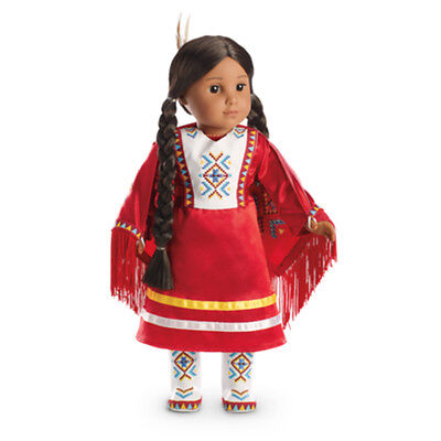 """American Girl KAYA MODERN FANCY SHAWL OUTFIT for 18"""" Dolls Indian NEW"""