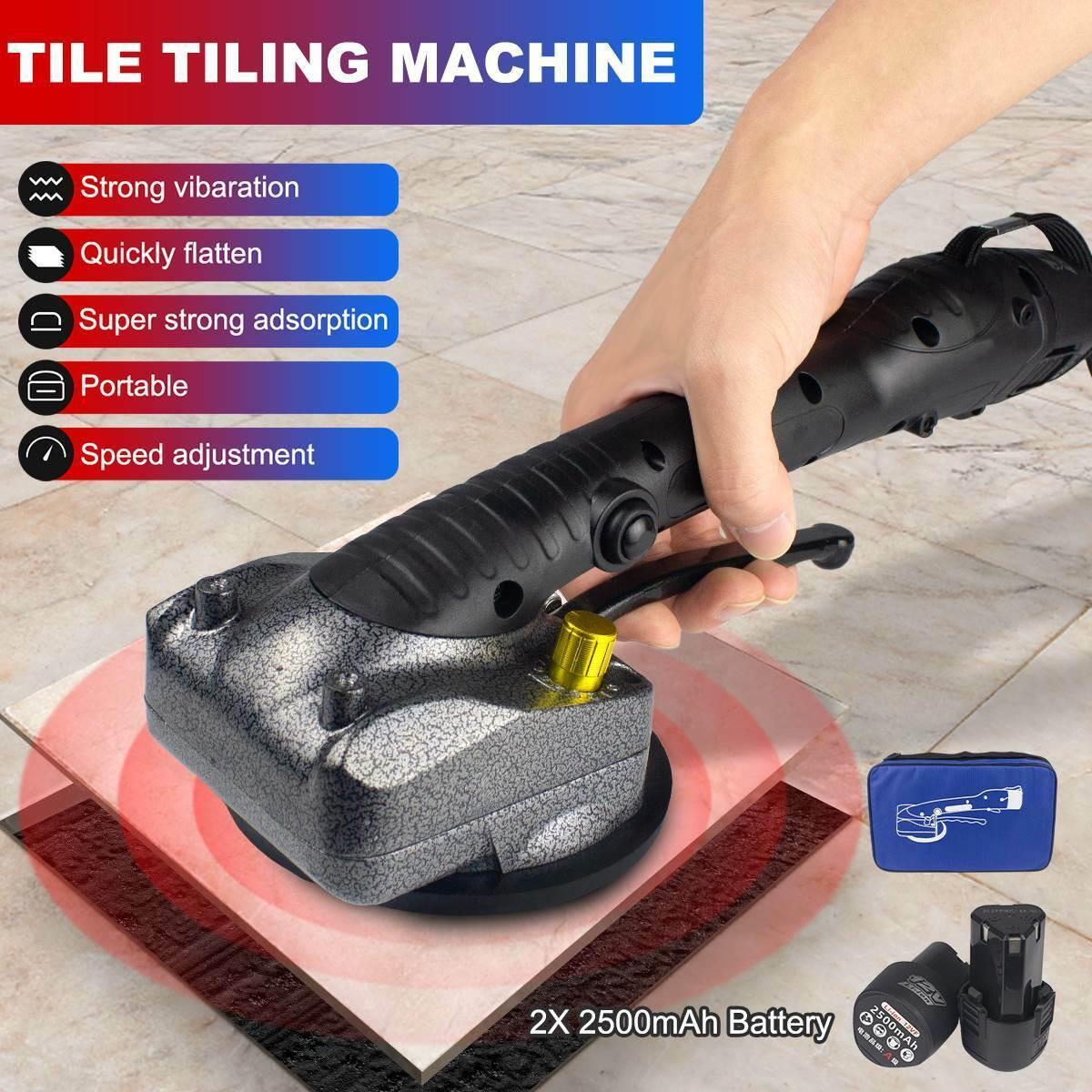 Handheld Tile Adjustable Leveling Machine Tile Vibrator Tiler Machine Tool 16.8V