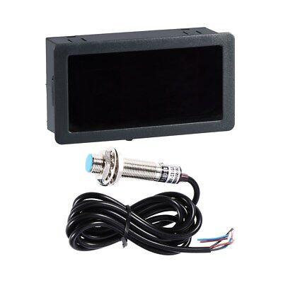 NEU Digital LCD Drehzahlmesser Hour Meter Achometer Gauge RPM Prüfvorrichtung DE