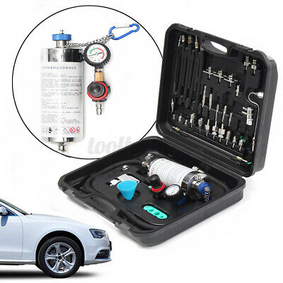 600ml Auto Non-Dismantle Fuel Injector Cleaner Tester Air Intake System Kit USA