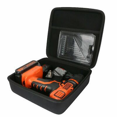 Khanka Hard Case for Black+Decker LDX120C 20-Volt MAX Lithium-Ion Cordless Drill