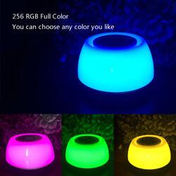 Wake-Up Light Bedside Lamp Sunrise Alarm Clock RGB 10 Colors LED Screen Natrual