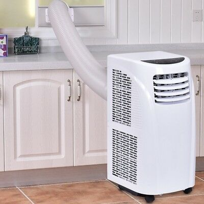 Home Room 10000 BTU Air Conditioner Dehumidifier Remote Control w/ Window Set US
